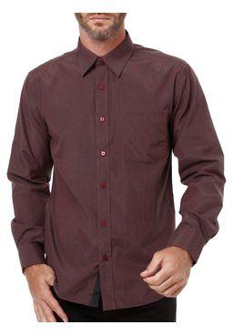 Camisa-Manga-Longa-Masculina-Bivik-Vinho