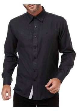 Camisa-Manga-Longa-Masculina-Bivik-Preto