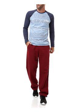 Camiseta-Manga-Longa-Fatal-Masculina-Azul