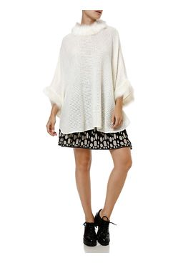 Poncho-Feminino-Off-white