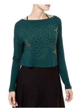Blusa-Regata-Feminina-com-Sobreposicao-Verde
