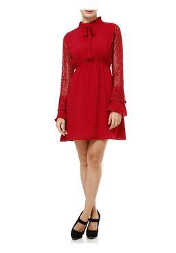 Vestido-Curto-Feminino-Autentique-Vermelho