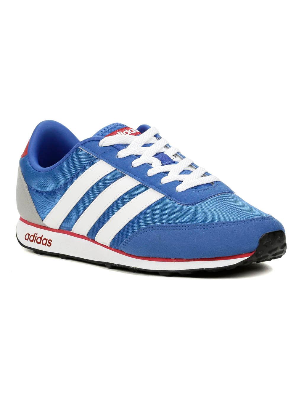 Tênis Casual Esportivo Masculino Adidas Racer Azul / branco / vermelho 42