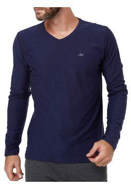 Camiseta-Manga-Longa-Masculina-Azul