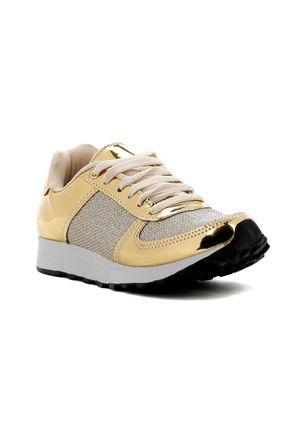 Tenis-Casual-Feminino-Dourado-34