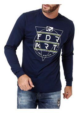 Camiseta-Manga-Longa-Masculina-Federal-Art-Azul-marinho