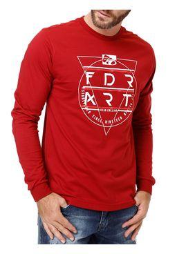Camiseta-Manga-Longa-Masculina-Federal-Art-Bordo