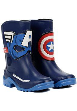 Bota-Avengers-Juvenil-Para-Menino---Azul-branco-vermelho
