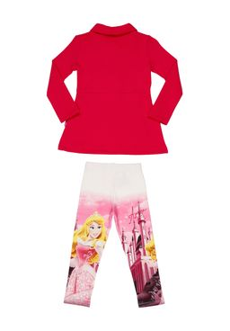 Conjunto-Infantil-Disney-Princess-Para-Menina---Rosa-pink