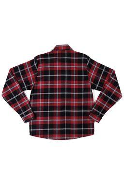 Camisa-Manga-Longa-Juvenil-Para-Menino---Bordo
