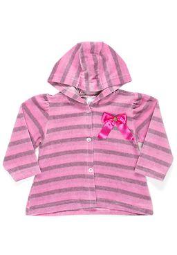 Jaqueta-Infantil-Para-Bebe-Menina---Rosa-pink