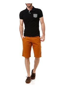 Bermuda-Jeans-Sarja-Masculina-Bivik-Caramelo