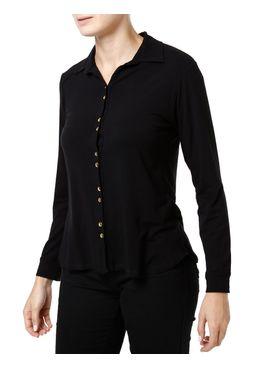Camisa-Manga-Longa-Feminina-Preto