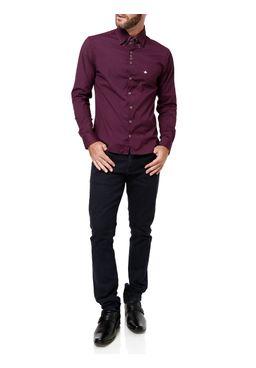 Camisa-Manga-Longa-Masculino-Urban-City-Vinho