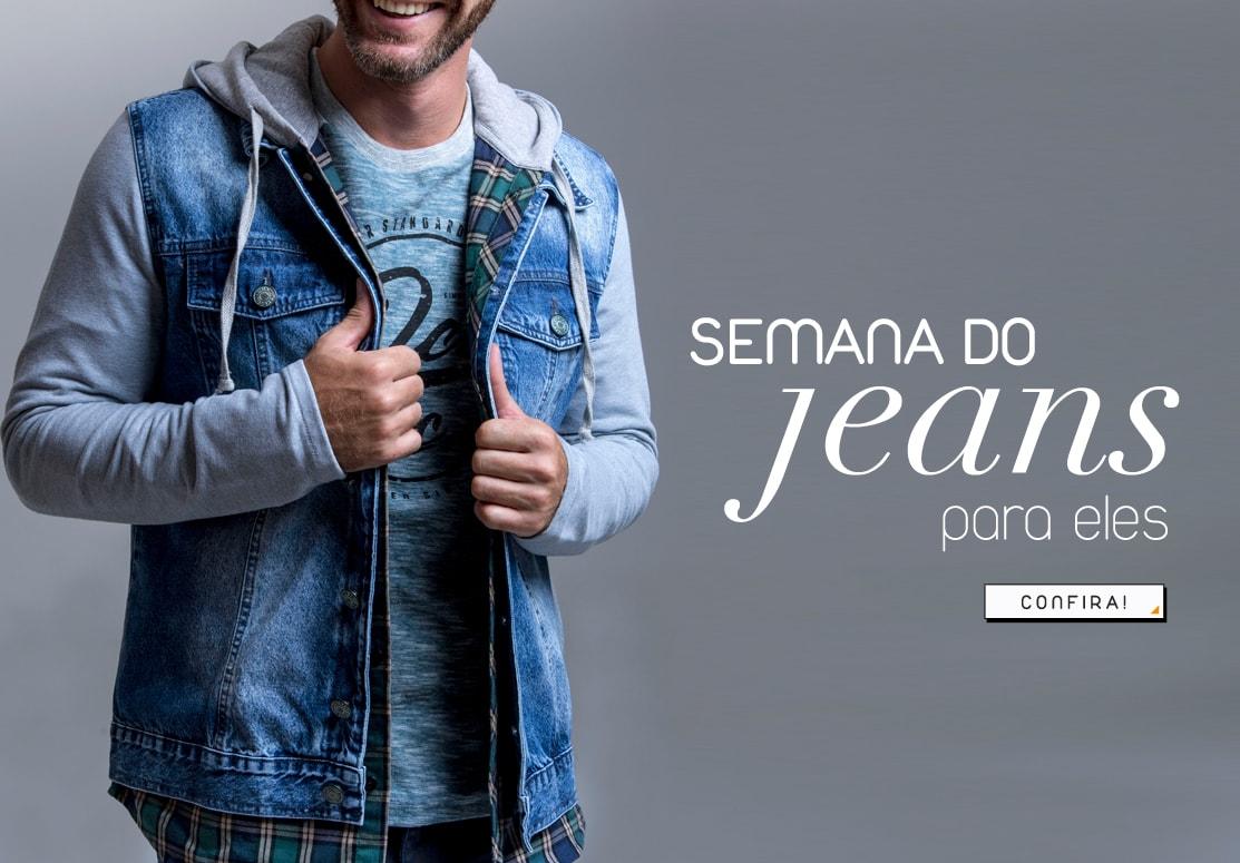 Semana do Jeans masculino