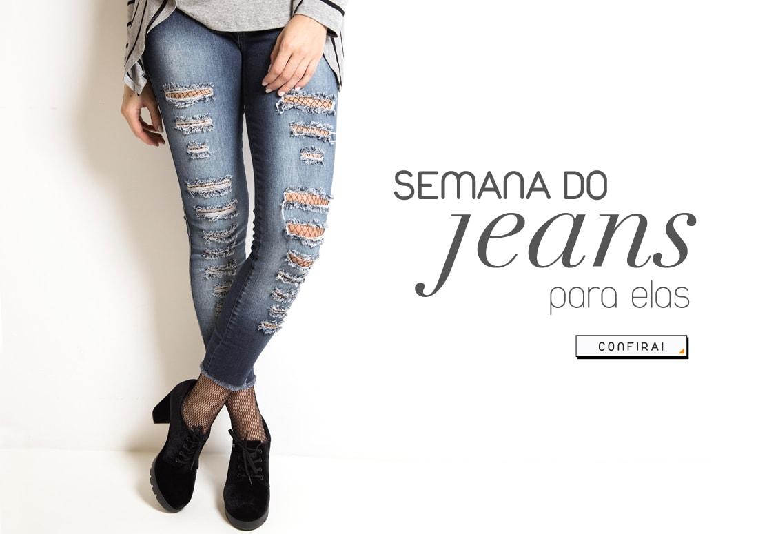 Semana do Jeans feminino
