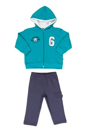 Conjunto-Infantil-Para-Bebe-Menino---Verde