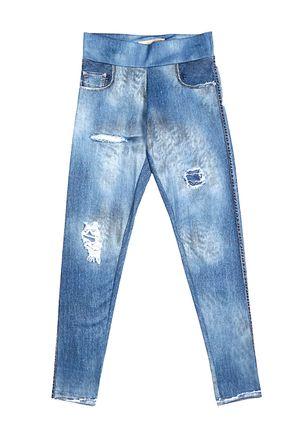 Calca-Legging-Juvenil-Para-Menina---Azul