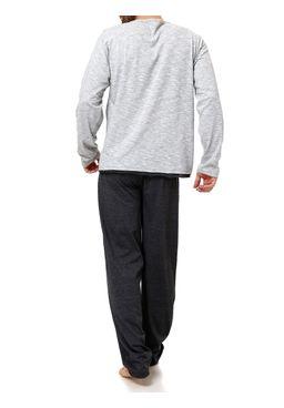 Pijama-Longo-Masculino-Cinza-preto