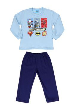 Conjunto-Infantil-Dc-Super-Friends-Para-Menino---Azul