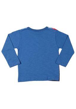 Camiseta-Manga-Longa-Spider-Man-Infantil-Para-Menino---Azul