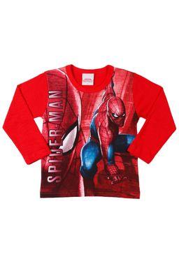 Camiseta-Manga-Longa-Spider-Man-Infantil-Para-Menino---Vermelho