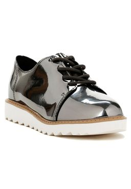 Sapato-Metalizado-Molekinha-Infantil-para-Menina---Chumbo
