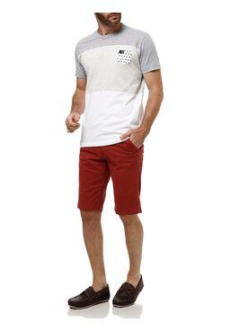 Camiseta-Manga-Curta-Masculina-Gangster-Branco-bege