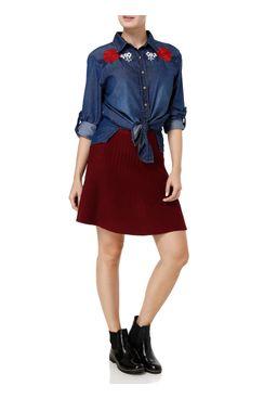 Camisa-Manga-Longa-Jeans-Feminina-Azul