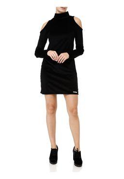 Vestido-Veludo-Medio-Feminino-Preto