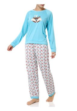 Pijama-Longo-Feminino-Azul