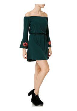 Vestido-Curto-Feminino-Verde