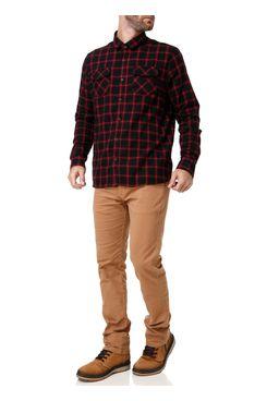 Camisa-Manga-Longa-Masculina-Preto-vermelho
