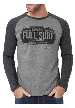 Camiseta-Manga-Longa-Masculina-Full-Surf-Cinza