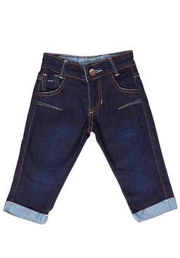 Calca-Jeans-Infantil-Para-Bebe-Menino---Azul