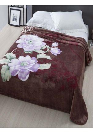 Cobertor-Casal-Corttex-Marrom