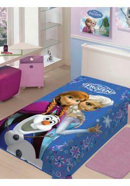 Cobertor-Solteiro-Jolitex-Raschel-Disney-Azul-claro