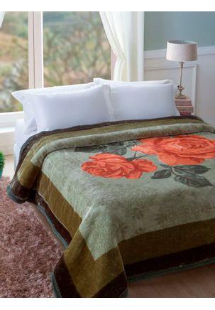 Cobertor-King-Jolitex-Verde