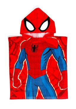 Toalha-Poncho-Infantil-Lepper-Avengers-Vermelho