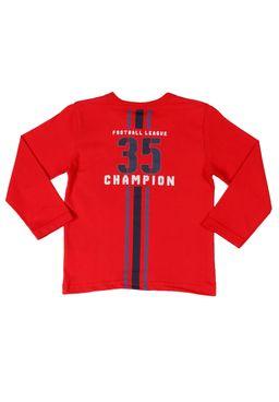 Camiseta-Manga-Longa-Infantil-Para-Menino---Vermelho
