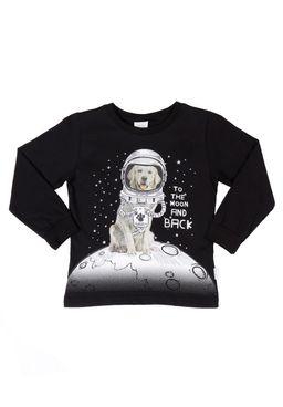 Camiseta-Manga-Longa-Infantil-Para-Menino---Preto
