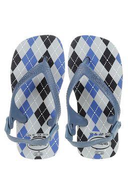 Sandalia-Havaianas-Infantil-Para-Bebe-Menino---Cinza-azul
