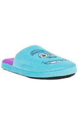 Pantufa-Feminina-Disney-Monstros-S.A.-Azul