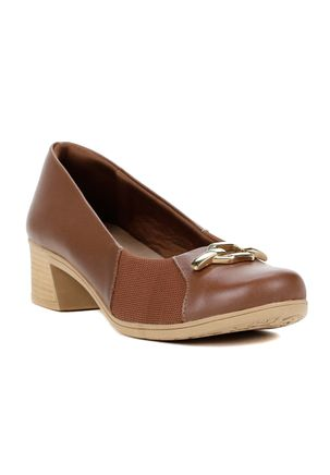Sapato-de-Salto-Feminino-Usaflex-Marrom
