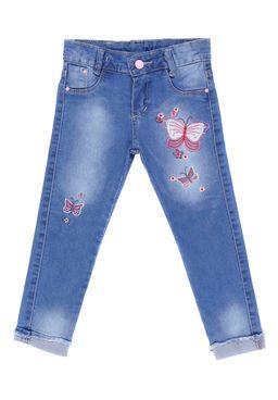 Calca-Jeans-Infantil-Para-Menina---Azul