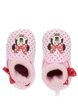 Pantufa-Disney-Minnie-Infantil-Para-Menina---Rosa