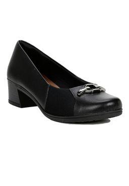 Sapato-Para-Mulher-Feminino-Usaflex-Preto