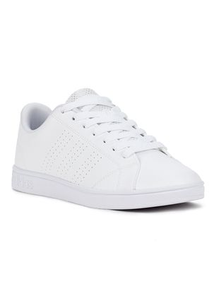 Tenis-Casual-Feminino-Adidas-Advantage-Clean-Branco