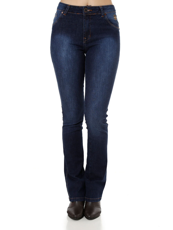 Calça Jeans Feminina Bivik Azul 38
