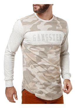 Camiseta-Manga-Longa-Masculina-Gangster-Bege